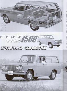 Mitsubishi Colt Van