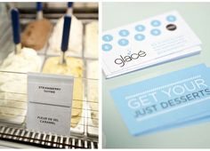 Glace business cards