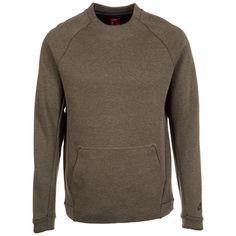 Nike Sportswear Sweatshirt »Tech Fleece Crew« für 74,95€. Minimales Gewicht, Angenehm wärmend, Lang anhaltender Tragekomfort, Perfekte Passform bei OTTO