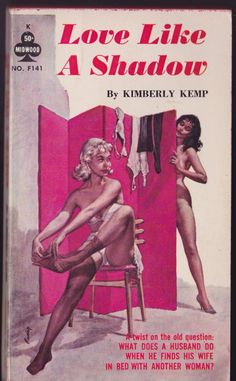 LOVE LIKE A SHADOW by Kimberly Kemp Midwood F141 Pulp 1962 Cover Art Paul Rader   Books, Fiction & Literature   eBay!