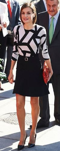 2 Oct 2015 - Queen Letizia attends Spanish Red Cross fundraising day. Click to read more
