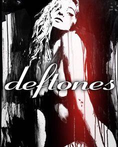 Deftones Deftones Lyrics, Around The Fur, Band Posters, Rock Posters, Maynard James Keenan, Chino Moreno, Alternative Metal, Rock T Shirts, Watercolor Portraits