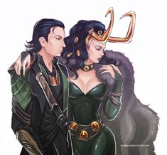 if Thor is cool Loki stays the coolest! watercolor, on sale this week end at ny comic con artist alley table Loki-agent of asgard-watercolor Avengers Fan Art, Loki Art, The Avengers, Avengers Comics, Loki Thor, Marvel Avengers, Lady Loki Cosplay, Loki Costume, Loki And Sigyn