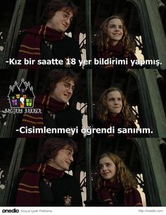 Hogwarts& Treniyle Gelmiş 26 Komik Harry Potter Caps& Funny Categories Fuunyy Hogwarts& Treniyle Gelmiş 26 Komik Harry Potter Caps& Source by sevgiyekte. Harry Potter Comics, Harry James Potter, Always Harry Potter, Harry Potter Cast, Harry Potter Memes, Hogwarts, Funny Memes Tumblr, Funny Quotes, Ron Weasly