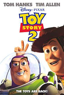 Toy Story 2 is a 1999 American computer-animated comedy-adventure film.  In the film, Woody is stolen by a toy collector, prompting Buzz Lightyear and his friends vow to rescue him. However, Woody finds the idea of immortality in a museum tempting.