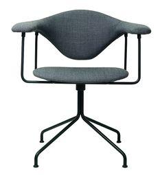 GUBI // Masculo Swivel Chair by GamFratesi