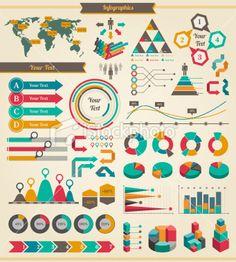 Infographics Elements Royalty Free Stock Vector Art Illustration Visualisation, Guerilla Marketing, Free Vector Art, Infographics, Kids Rugs, Graphic Design, Abstract, Holiday Decor, Illustration