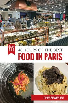 Adi shares how to maximise 48 hours of eating on the ultimate French foodie weekend in Paris, France. We list the best restaurants in Paris, the best Paris markets, gourmet food shops and all the best things to do in Paris for foodies!: