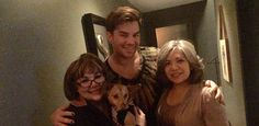 Adam, when he adopted Pharaoh! >> Aww..an amazing day for BOTH of them!!