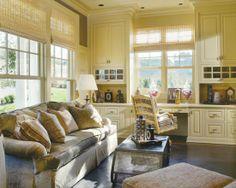 Home Decor Traditional Home-office. ホームオフィスのインテリアコーディネイト実例