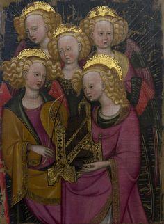 "Late 14th Century - ""Musician Angels"" by Stefano da Verona (1375 - 1451)"