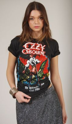 OZZY OSBOURNE & QUEENSRYCHE Vintage 80s Tour by LotusvintageNY