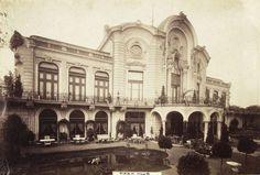 Stefánia út 32-40., Park Club (ma Stefánia Palota). A felvétel 1895 után készült. A kép forrását kérjük így adja meg: Fortepan / Budapest Főváros Levéltára. Levéltári jelzet: HU.BFL.XV.19.d.1.08.111