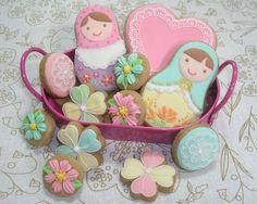 Sweet details on matryoshka by Rana. イメージ 1