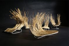 traditionally woven willow basket chairs by andrija vecenaj