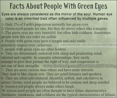 Interesting Strange Fact About People With Green Eyes | Curious Facts