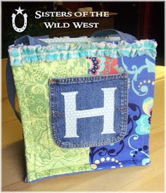 Sisters of the Wild West: Ruffled Diaper Bag Tutorial