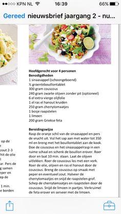 Couscous salade raapstelen