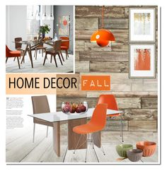 """""""Fall Home"""" by milica1940 on Polyvore featuring interior, interiors, interior design, home, home decor, interior decorating, Graham & Brown, West Elm, Charles and Ray Eames and Dot & Bo"""