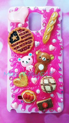 Ralikkuma bakery miniature deconden cabochon for ALL iPhone models 6S 6 6plus... in Cell Phones & Accessories, Cell Phone Accessories, Cases, Covers & Skins | eBay