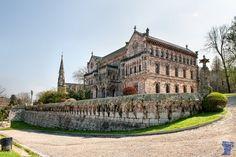 Palacio de Sobrellano. Cantabria. Spain.