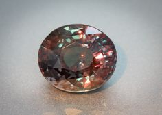 GRS Certified Natural Alexandrite – Oval 8 Carat ... yeah, this is want I want for my mother's ring ;)