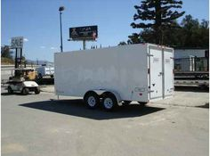 """2016 New Haulmark PPT7X16DT2 Toy Hauler in California CA.Recreational Vehicle, rv, 2014 HAULMARK PPT7X16DT2, THIS TRAILER HAS A DUAL CARGO REAR DOORS, 32"""" SIDE DOOR WITH BARLOCK, ALL WHEEL ELECTRIC BRAKES W/EMERGENCY BREAKAWAY, ALL STEEL FRAME CONSTRUCTION, 2000LBS TOPWIND JACK WITH SAND PAD, G.V.W.R.7000LBS, .024 POWDERCOATED ALUMINUM EXTERIOR, GALVALUME ROOF, 3/8"""" PLYWOOD SIDE WALLS, 3/4"""" PLYWOOD FLOORING, ALL DOT LIGHTING, 12VOLT DOME LIGHT, THIS TRAILER IS A STEAL AT THIS PRICE. GREAT…"""