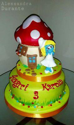 #puffetta #cake #Party #birthey #alessandradurante #handmade #withlove #alessandradurante