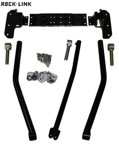 XJ ROCK-LINK Front Long Arm Upgrade