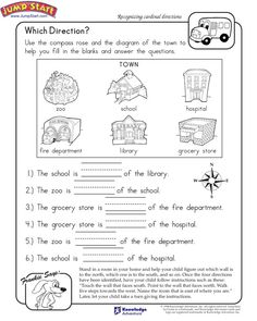 Which Direction? - Printable Worksheet for Kids