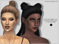 The Sims Resource: Contour Kit N.2 by mxfsims • Sims 4 Downloads