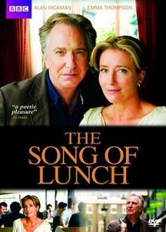 Rent The Song of Lunch starring Alan Rickman and Emma Thompson on DVD and Blu-ray. Get unlimited DVD Movies & TV Shows delivered to your door with no late fees, ever. The Song Of Lunch, Love Movie, Movie Tv, Movies Showing, Movies And Tv Shows, Movies To Watch, Good Movies, Period Drama Movies, Period Dramas