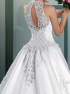 vestidos de noiva RJ bordado atrás
