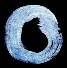 first light/snow epaulettes/on the stone eagle (haiku and enso by susan)