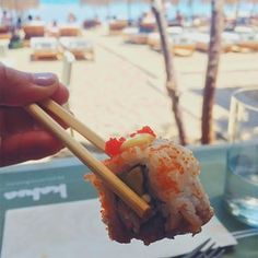 Mykonos king prawn sushi▫️▫️#holiday #summer #sushi #mykonos #kingprawn #avocadotoast #avocadolove #greece #foodingreece #fresh #fish #foodlover #vscofood #foodblogger #foodpics #foodtruck #foodstagram #food #berlin #foodporn #buzzfoodfeed #buzzfeed #feedfeed #foodpic #foodphotography #foodphoto #foodiegram #eeeeeats #vsco #vscodaily