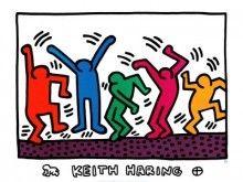 Keith Haring The Dance Art Print