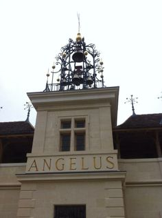 #angelus : the bells were ringing atop Chateau Angelus today!