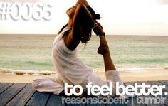 #ReasonsToBeFit
