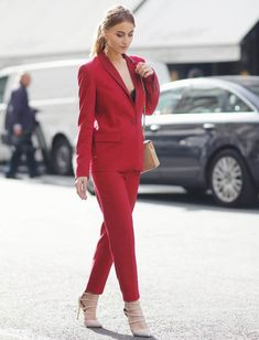 red-suitpants-with-nude-heels