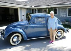 I want this old girl, and yes I am talking about the car. 1959 VW Bug 1 owner