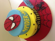 Spiderman Birthday cake made by @sweetsbysuzie Melbourne