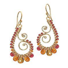 Wire Wrapped Gemstone Fine Jewelry by Calico Juno Designs | Seeking Designers