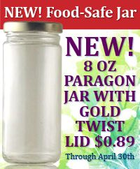 The Jar Store--sells all kinds of jars and containers--linking to the section on Jelly, Mason & Salsa Jars