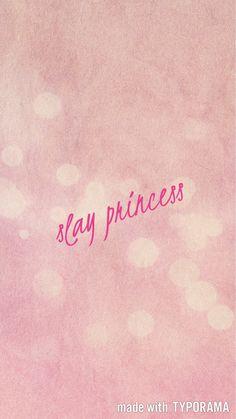pink wallpaper slay princess