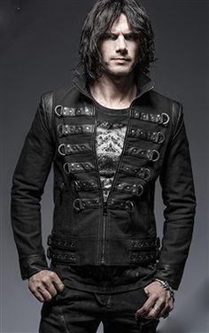 Punk Rave Gothic Malkavian Jacket