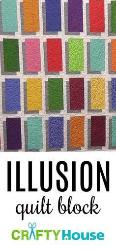Illusion Quilt Block