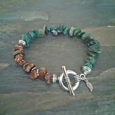 Gemstone Chip Healing Bracelet