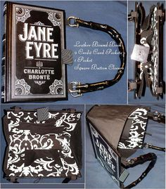 Jane Eyre  Leather Book Purse  Made to Order by BookPurses on Etsy, $43.00
