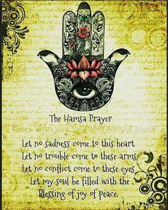 The Hamsa Prayer