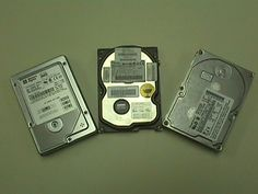Lot of 4 Name Brand 400 GB IDE Hard Drives